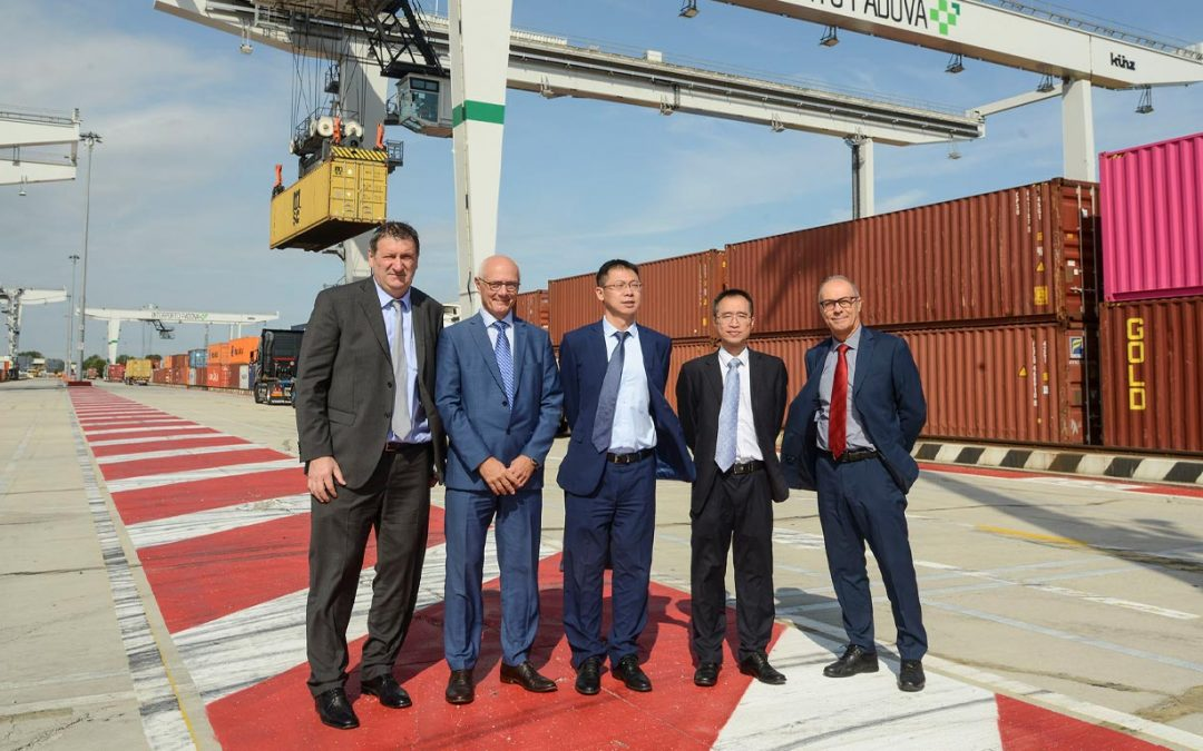 Ever closer relations between the Port of Genoa, Interporto Padova and the Port of Guangzhou. Chinese interest in the opportunities offered by Green Logistics Expo