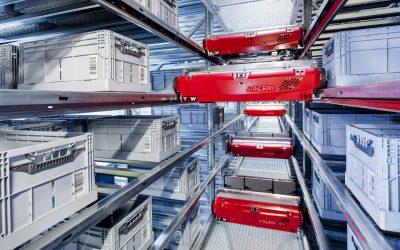Magazzini del futuro a Green Logistics Expo nell' era dell'Internet of Things e della robotizzazione